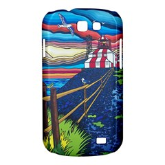 Cape Bonavista Lighthouse Samsung Galaxy Express Hardshell Case