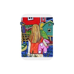 Blue Door And Stuffed Bunny Apple iPad Mini Protective Soft Case