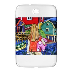 Blue Door And Stuffed Bunny Samsung Galaxy Note 8.0 N5100 Hardshell Case