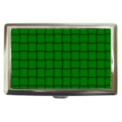 Green Weave Cigarette Money Case