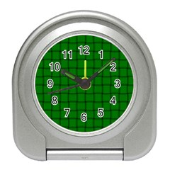 Green Weave Desk Alarm Clock
