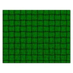 Green Weave Jigsaw Puzzle (rectangle)