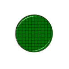 Green Weave Golf Ball Marker 4 Pack (for Hat Clip)