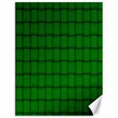 Green Weave Canvas 12  x 16  (Unframed)