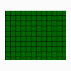 Green Weave Glasses Cloth (small, Two Sided)