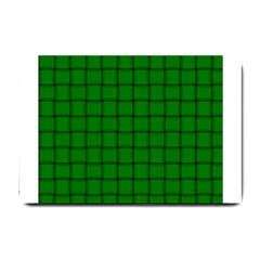 Green Weave Small Door Mat
