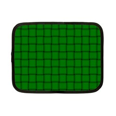 Green Weave Netbook Case (small)