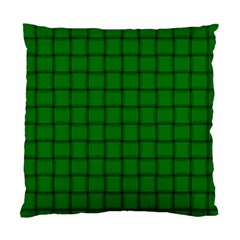 Green Weave Cushion Case (one Side)