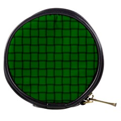 Green Weave Mini Makeup Case