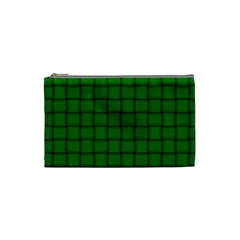 Green Weave Cosmetic Bag (small)