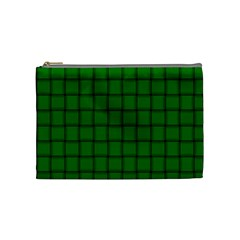 Green Weave Cosmetic Bag (medium)