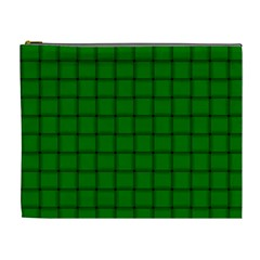 Green Weave Cosmetic Bag (XL)