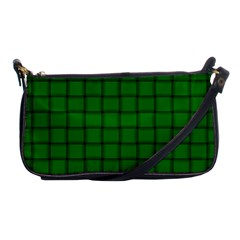 Green Weave Evening Bag