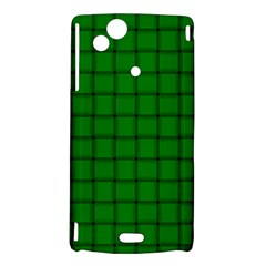 Green Weave Sony Xperia Arc Hardshell Case
