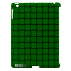 Green Weave Apple iPad 3/4 Hardshell Case (Compatible with Smart Cover)