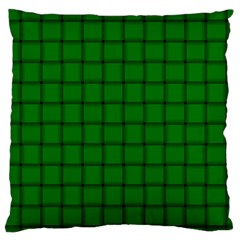 Green Weave Large Cushion Case (Two Sides)