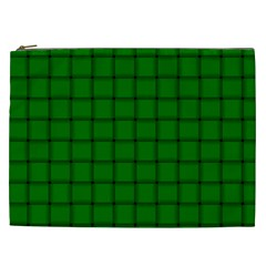 Green Weave Cosmetic Bag (XXL)