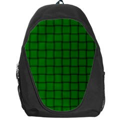 Green Weave Backpack Bag