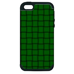Green Weave Apple iPhone 5 Hardshell Case (PC+Silicone)