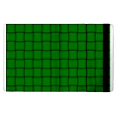 Green Weave Apple iPad 3/4 Flip Case