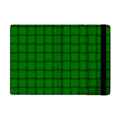 Green Weave Apple iPad Mini Flip Case