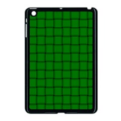 Green Weave Apple iPad Mini Case (Black)
