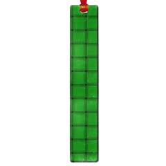 Green Weave Large Bookmark