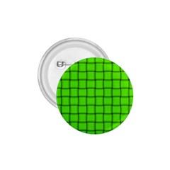 Bright Green Weave 1.75  Button