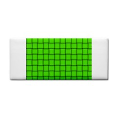 Bright Green Weave Hand Towel