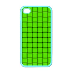 Bright Green Weave Apple iPhone 4 Case (Color)