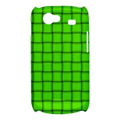 Bright Green Weave Samsung Galaxy Nexus S i9020 Hardshell Case