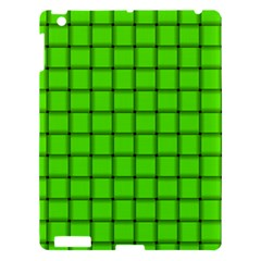 Bright Green Weave Apple iPad 3/4 Hardshell Case