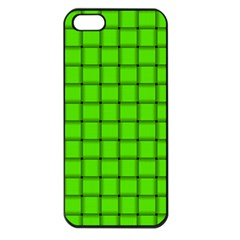 Bright Green Weave Apple Iphone 5 Seamless Case (black)