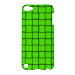 Bright Green Weave Apple iPod Touch 5 Hardshell Case