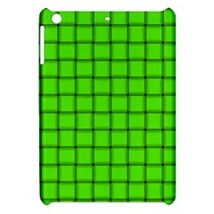 Bright Green Weave Apple iPad Mini Hardshell Case