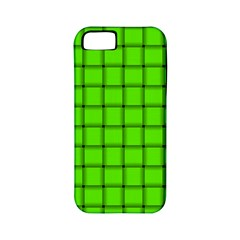 Bright Green Weave Apple iPhone 5 Classic Hardshell Case (PC+Silicone)