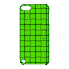 Bright Green Weave Apple iPod Touch 5 Hardshell Case with Stand