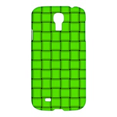 Bright Green Weave Samsung Galaxy S4 I9500 Hardshell Case