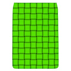 Bright Green Weave Removable Flap Cover (large)