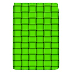 Bright Green Weave Removable Flap Cover (small)