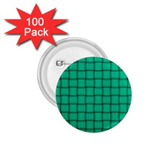 Caribbean Green Weave 1.75  Button (100 pack)
