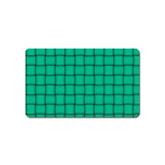 Caribbean Green Weave Magnet (name Card)