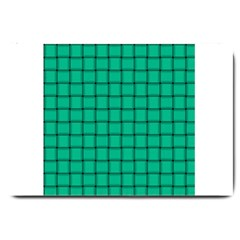 Caribbean Green Weave Large Door Mat