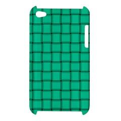 Caribbean Green Weave Apple iPod Touch 4G Hardshell Case
