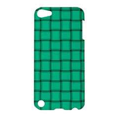 Caribbean Green Weave Apple Ipod Touch 5 Hardshell Case