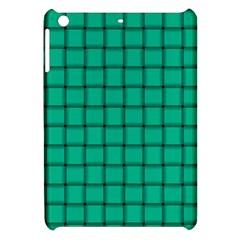 Caribbean Green Weave Apple Ipad Mini Hardshell Case