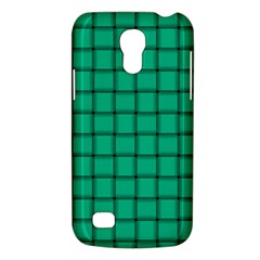 Caribbean Green Weave Samsung Galaxy S4 Mini Hardshell Case