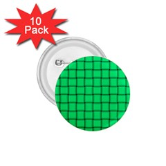Spring Green Weave 1.75  Button (10 pack)