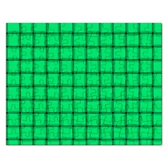 Spring Green Weave Jigsaw Puzzle (Rectangle)