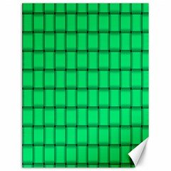Spring Green Weave Canvas 12  x 16  (Unframed)